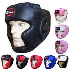ZstarAX Leather Boxing Head Guard / Helmet Face Protection Guard Ladies,Mens