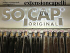 EXTENSION ORIGINAL SOCAP 125 CIOCCHE IN CHERATINA 100% NATURALI 60/65cm
