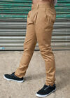 MENS 60's 70's INDIE RETRO MOD VINTAGE SKINNY PLEATED CHINO PANTS SIZES 28-36