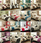 5pc Bed in a Bag Bedding Duvet Quilt Cover Set in 20 Designs, Double & King Size