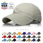 Kyпить Baseball Cap Cotton Solid Plain men women Ball Hat Dad Hat Polo Washed Ball на еВаy.соm