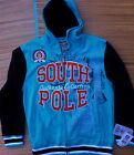 SOUTH POLE YOUTH CLASSIC THROW-BACK TYPE SCHOOL ATHLETIC JACKET W/HOOD LIST $50