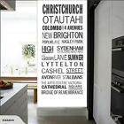 NZ PLACE NAMES - ASSORTED WALL DECALS - CHOOSE ONE YOU LIKE