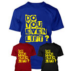 DO YOU EVEN LIFT T Shirt Gym Clothing Fitness Body Building Funny S-XXL