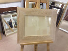 """MODERN 3"""" FLAT LIMED SOLID OAK PHOTOGRAPH/PICTURE FRAME-VARIOUS SIZES AVAILABLE"""