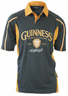Guinness Charcoal Mustard Mesh Rugby Shirt