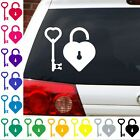 key to my heart decal love promise wedding sticker.