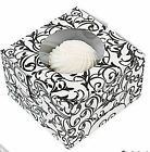 Black & White Swirl Cupcake Boxes AS LOW AS 53¢ea Wedding Favor SHOWER #37437
