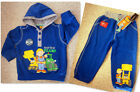 BOYS Bob the Builder Long Sleeve Hoodie 2pc Jumper Set12-18mths 18-24mths