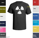 Radiation Symbol T-shirt  Danger Warning Toxic Atomic Nuclear fallout Shirt