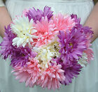 Artificial Silk Gerbera Wedding Flower Bouquets  - Bridal / Bridesmaid Flowers