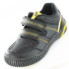 Boys Size 8 - 2 Black Yellow JCB Velcro Shoes NEW Excavate Trainers Childrens