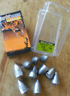 Rapture lead weights for soft plastics, bullet head round drop shot nail inserts