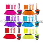 3 LAYER NEON UV TUTU SKIRT FANCY DRESS & ACCESSORIES HEN PART UV RAVE PARTY