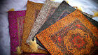 Turkish Ottoman Silk Ceramic Tapestry Pillow Cushion Hand Made,Zippered Velvet