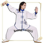 New  Chinese Traditional embroidered  taiji wushu suit tai chi kung fu uniform