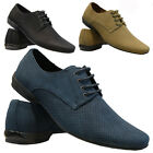 MENS NUBUCK DESIGNER SHOES ITALIAN LOAFERS CASUAL BOAT MOCCASIN DRIVING BOOTS