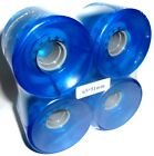 65x51mm 78A soft longboard Wheels Drop Through skateboard complete carving 65mm