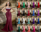 Gorgeous Long Strapless Prom Dress Formal Empire Beading Evening Gown Party 6-26