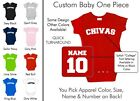 Chivas Baby One Piece - Custom Name and Number, Creeper, Onesie