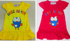 NEW GIGGLE AND HOOT Girls Short Sleeve T-Shirt Dress 1yrs 2yrs 3yrs 4yrs 5yrs
