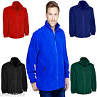 Mens Fleece Jacket Size XS to 6XL Plus  Zip-Up