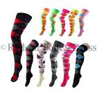 ARGYLE OVER THE KNEE SOCKS DIAMOND CHECKED FANCY DRESS SCHOOL GOLF SOCKS COTTON
