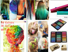 Hair Chalk Non-ToxicTemporary Pastel Colour Dye Kits, 6Pack,12Pack,24Pack NEW!