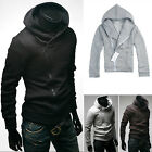 New Fashion Men Slim Fit Sexy Top Designed Hoodies Jackets Coats Tops