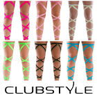 Festival Rave Leg Wraps - Quality Elastic - Rave Accessories - Free Shipping