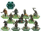 LORD OF THE RING Combat Hex Base TRADEABLE 40mm MINIATURES