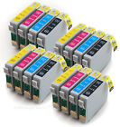 4 Sets of Compatible Printer Ink Cartridges E-711 E-712 E-713 E-714