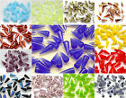 CHOOSE COLOR! 12pcs Czech Glass Pressed Spike Beads 5x13mm $3.2 USD