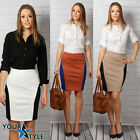 Women's Elegant Office Classic Work Party Casual Slimming Pencil Skirt M12