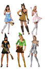 WIZARD OF OZ DOROTHY WITCH TIN WOMAN COWARDLY LION SCARECROW GLINDA COSTUME