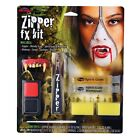 SPECIAL EFFECTS ZIPPER KIT MAKE UP HALLOWEEN FX COMPLETE HORROR GORY ZOMBIE SKIN