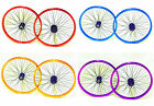 "BRAND NEW BMX BIKE 20"" FRONT & REAR WHEELS WITH 9 T DRIVER COLOUR CHOICE + 25T"