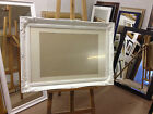 """3""""  SHABBY CHIC PHOTO/PICTURE FRAME WITH PICTURE MOUNT-VARIOUS SIZES AND COLOURS"""