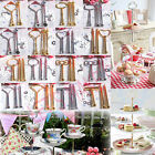 Various 2 or 3 Tier Cake Plate Stand Party & Home Handle Fitting Hardware NEW