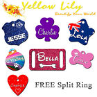 Aluminium Tags for Pets Personalised for Dog, Cat, Pet, Puppy Kitten Collar Tag!