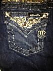 "Miss Me Girls jeans JK6239B MK 232 ""Golden Flakes"" Boot cut"