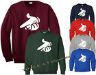 DRAKE MICKEY MOUSE GUN HANDS UNISEX SWEATSHIRT JUMPER 6 COLORS S TO XL SIZES