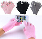 Unisex Magic Touch Screen Gloves Smartphone Texting Stretch Winter Warmer