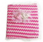 Baby Photo Album pink blue yellow boxed new holds 160 pictures gift christening