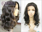 loose body wave wigs 100% indian remy human hair full lace wig 1#1b#2#4#1b/30#