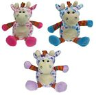 SNOOZIE FRIENDS WHEAT & LAVENDER MICROWAVE GIRAFFE CUDDLY HEAT PACK FOR KIDS