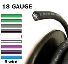 Kyпить Audiopipe Speed Wire 9 Conductor 18 Gauge Speakerwire Cable Standard Colors на еВаy.соm