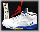 Nike Air Jordan V 5 Laney White Maize Royal Blue Black 136027-189 US 9~13 AJ5
