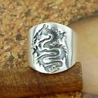 STERLING SILVER DRAGON RING SOLID.925 /NEW NICKEL FREE JEWELRY SIZE 5-12