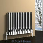 Reina Nerox Polished Horizontal Radiators - Central Heating Stainless Steel Rad